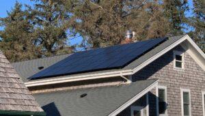 Oregon Coast Local Solar Company Installation